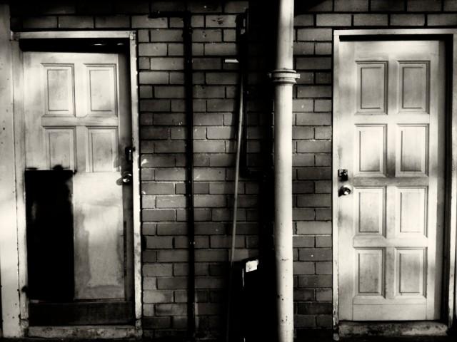 Door at back alley
