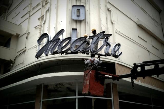 Theatre no more