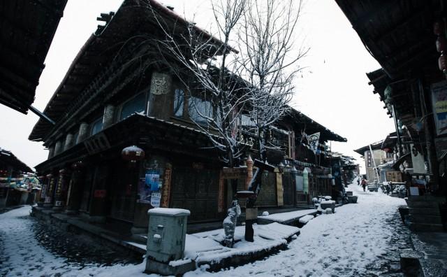 一覺醒來遍地白雪