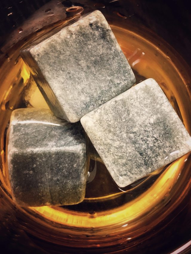 Rock Cube in Whiskey