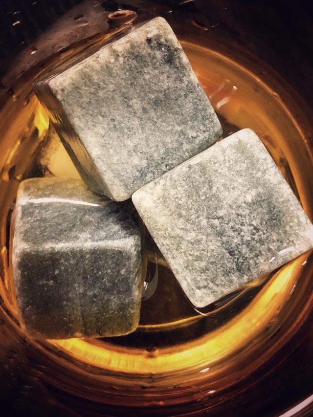 Rock Cube in Whiskey