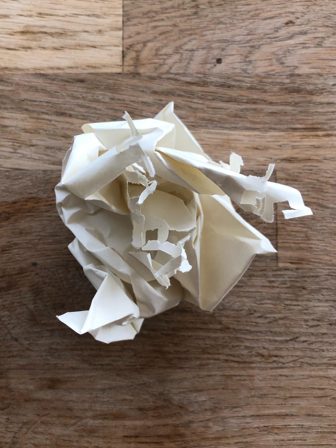 折腾不起的白纸